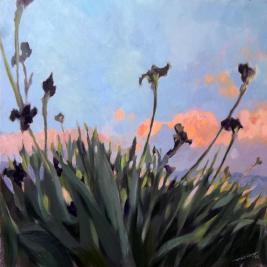 #141, 2012, oil on canvas, 100x100cm