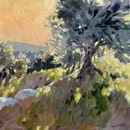 #187, 2013, oil on canvas, 90x90 cm