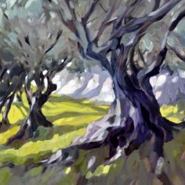 #220, 2014, oil on canvas, 73x92cm