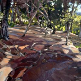 #297, 2017, oil on canvas, 130x195cm