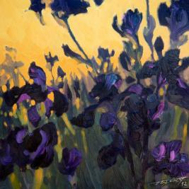 #138, 2012, oil on canvas, 50x50cm